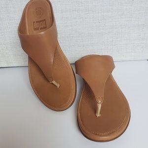 NWT Fitflop Banda Wedge Sandal Size 8